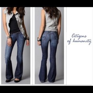 COH Citizens of Humanity Ingrid002 Low Waist Flare